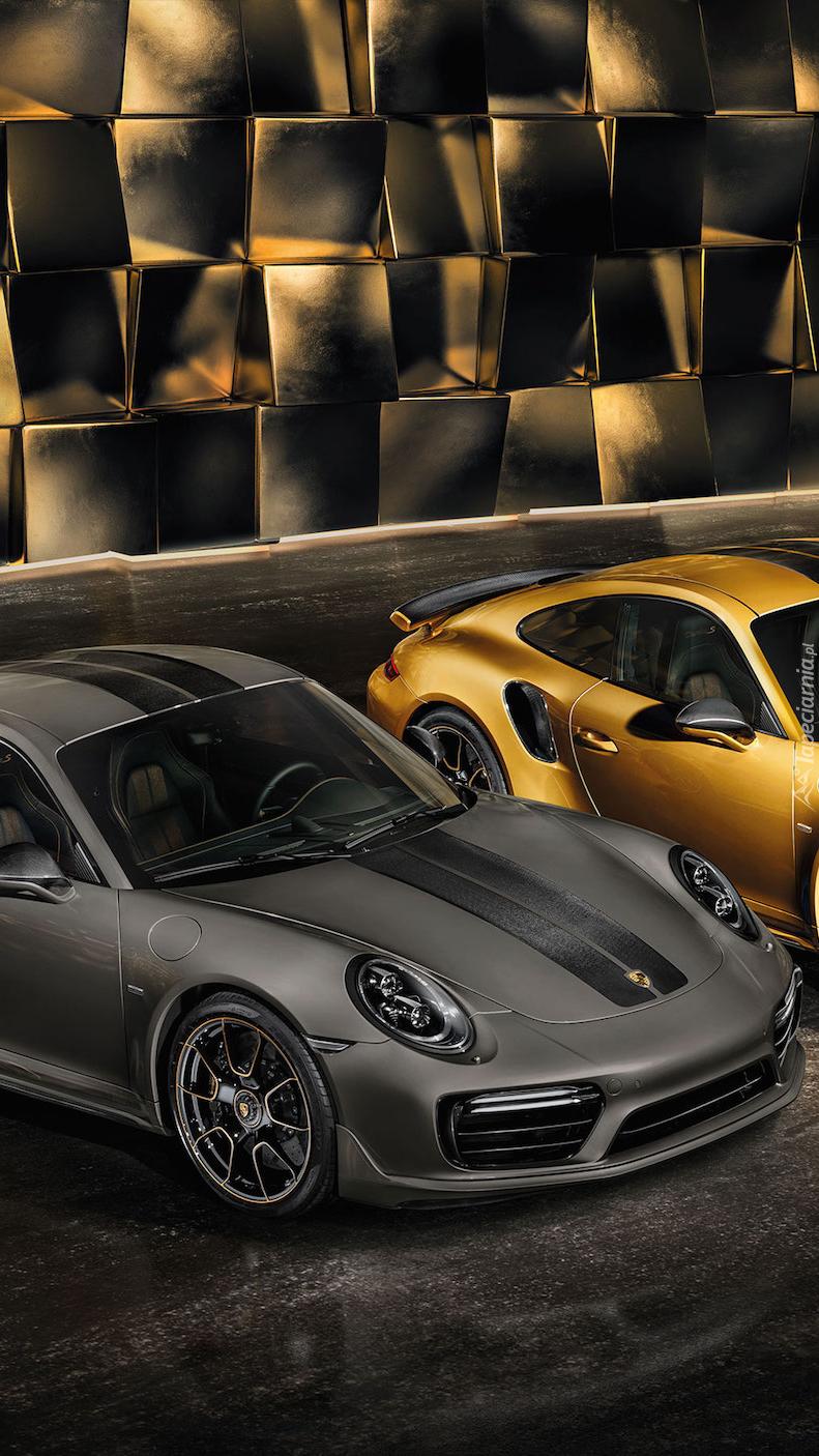 Czarne Porsche 911 Turbo S Exclusive