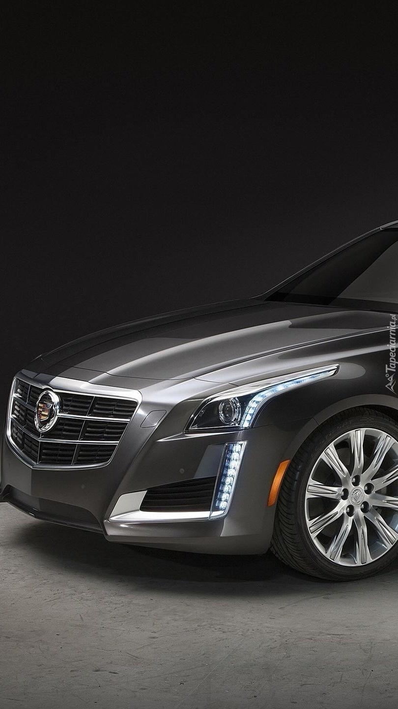 Czarny Cadillac CTS