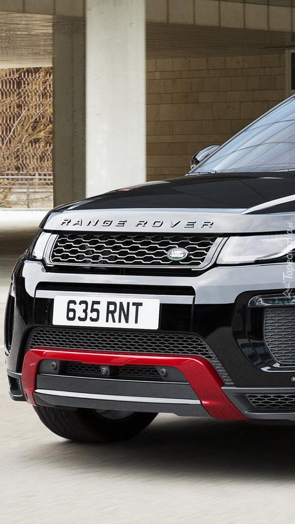 Czarny Land Rover Range Rover Evoque