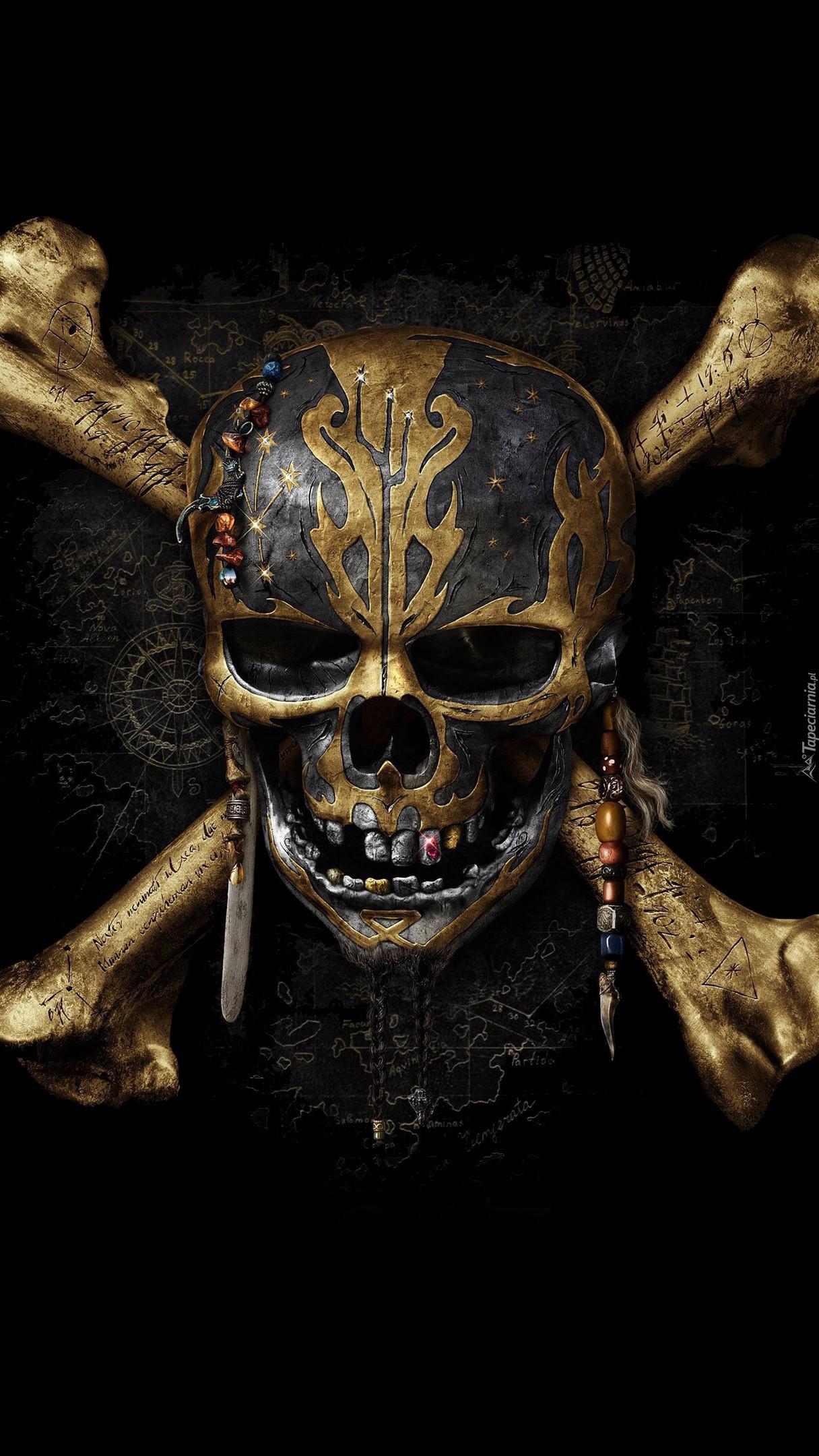 Czaszka z filmu Piraci z Karaibów