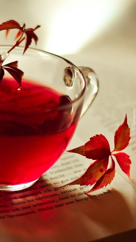 Czerwona herbatka