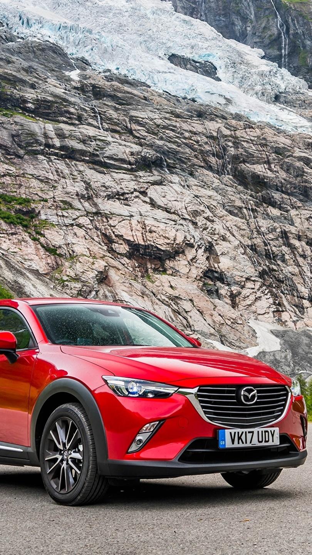 Czerwona Mazda CX-3