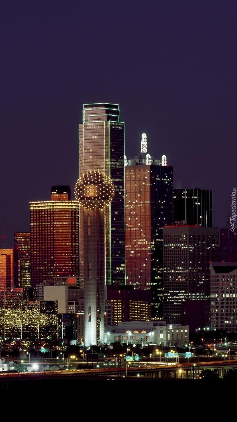 Dallas nocą