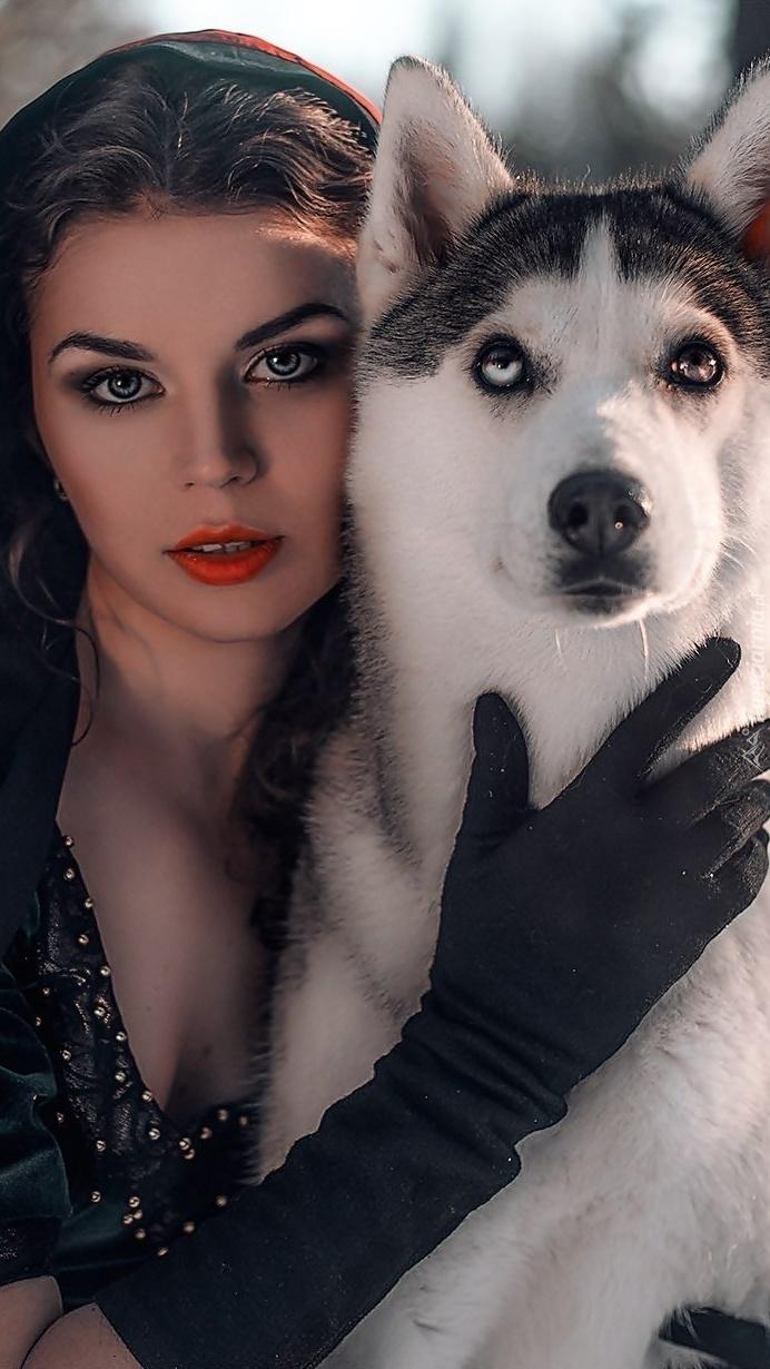 Dama z psem