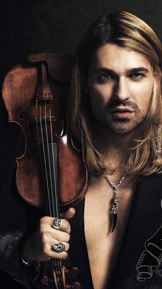 David Garrett ze skrzypcami