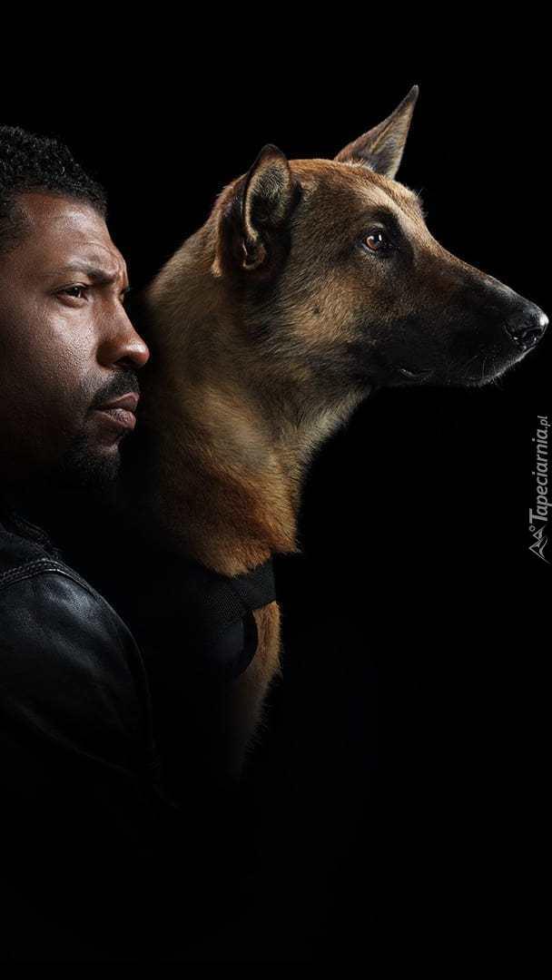 Deon Cole z psem
