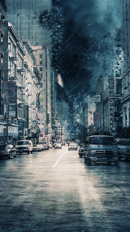 Deszczowa ulica