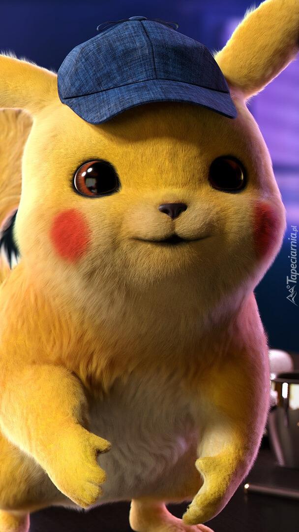 Detektyw Pikachu w czapeczce