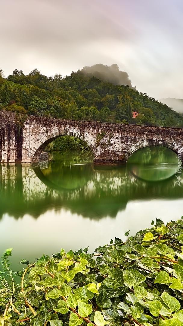 Diabelski most nad rzeką Serchio