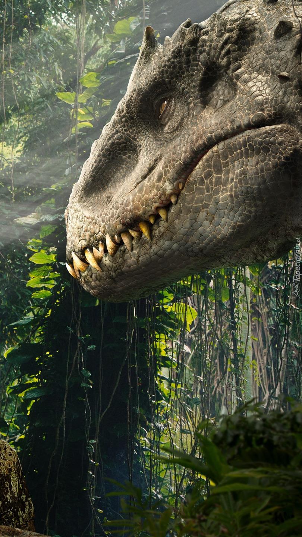 Dinozaur z filmu Jurassic World