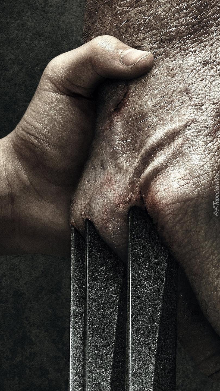Dłoń z ostrzami