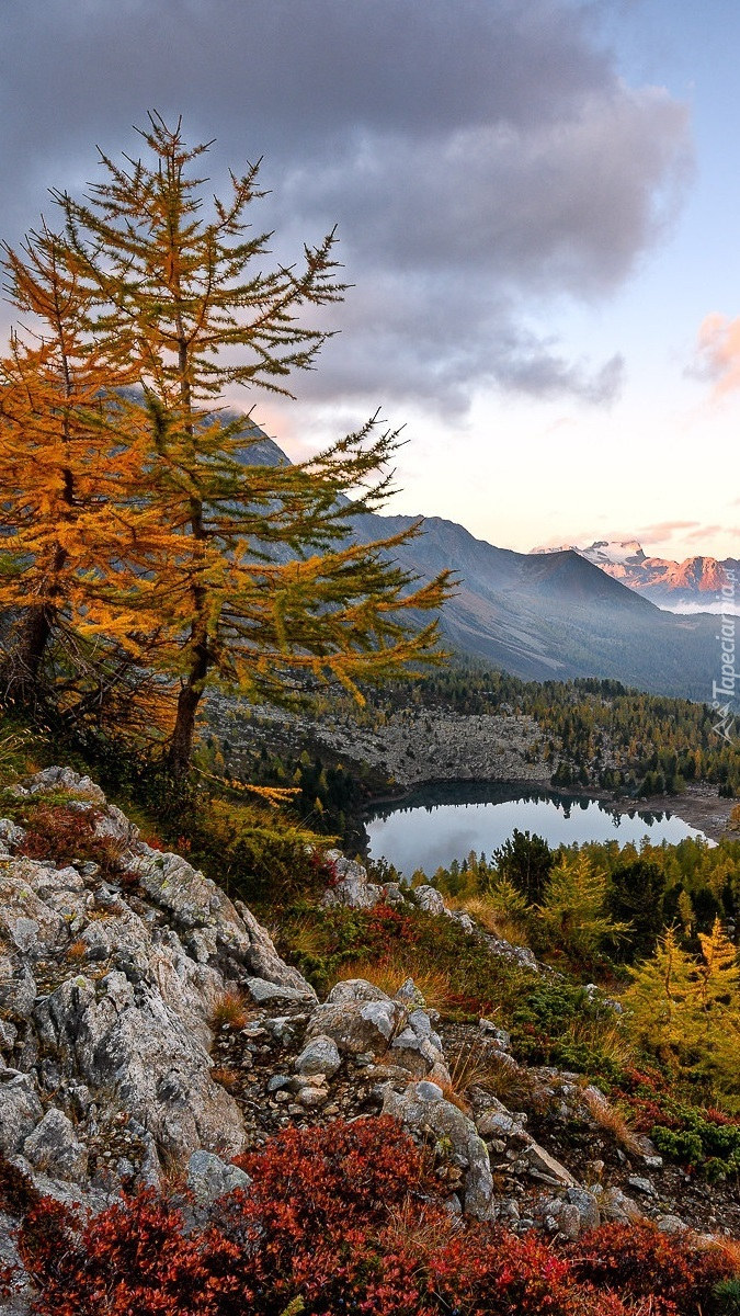 Dolina Engadyna jesienią
