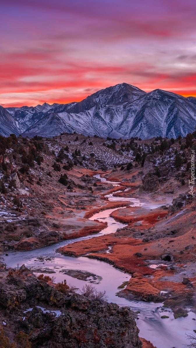 Dolina rzeki Hot Creek