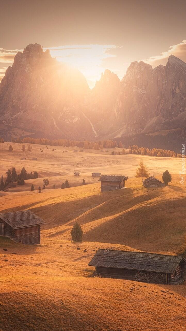 Dolina Val Gardena w Dolomitach