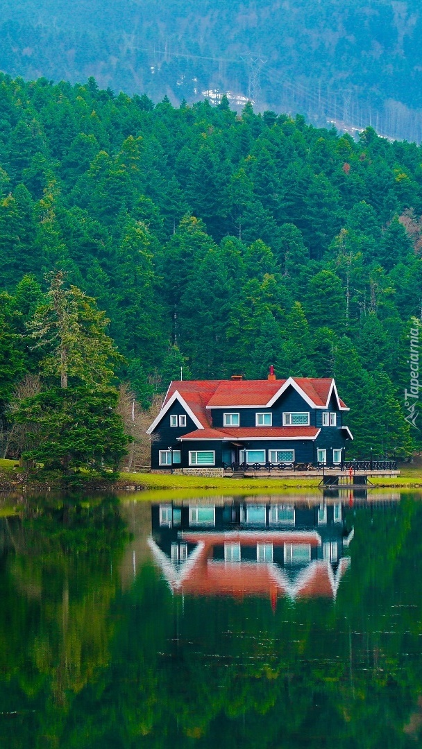 Dom nad jeziorem Golcuk