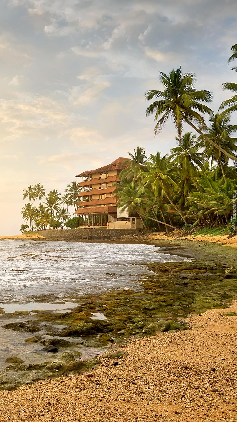 Dom nad oceanem blisko plaży