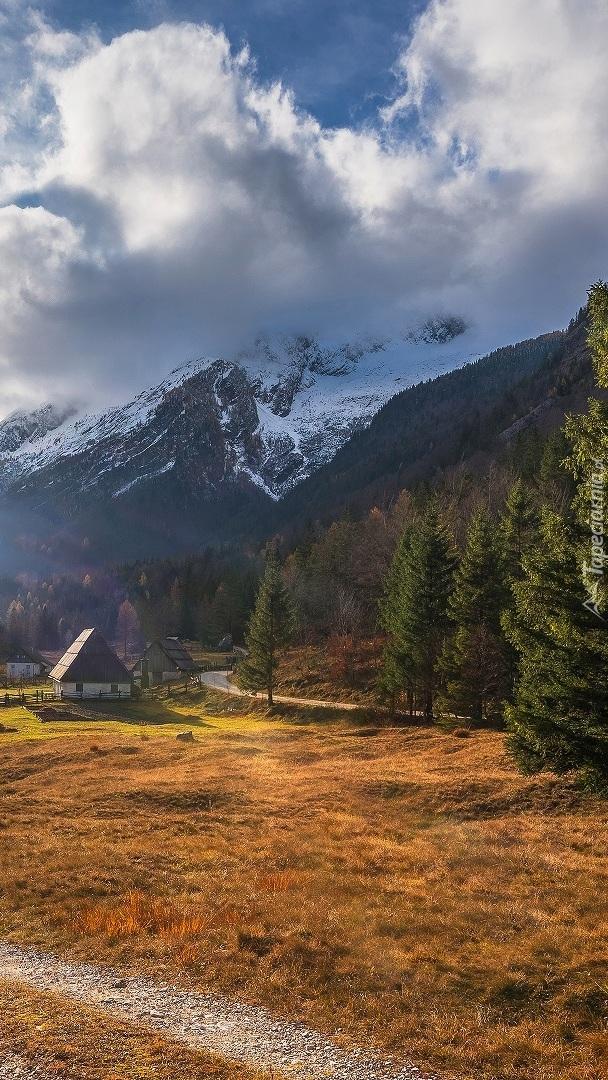 Domek w dolinie Zadnja Trenta