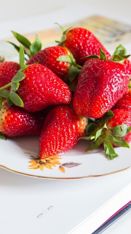 Dorodne truskawki