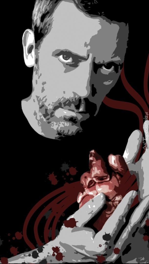 Dr House z sercem na dłoni