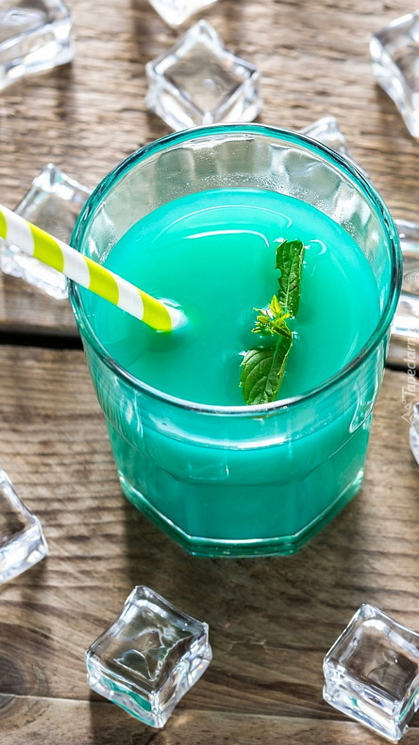 Drink błękitna laguna