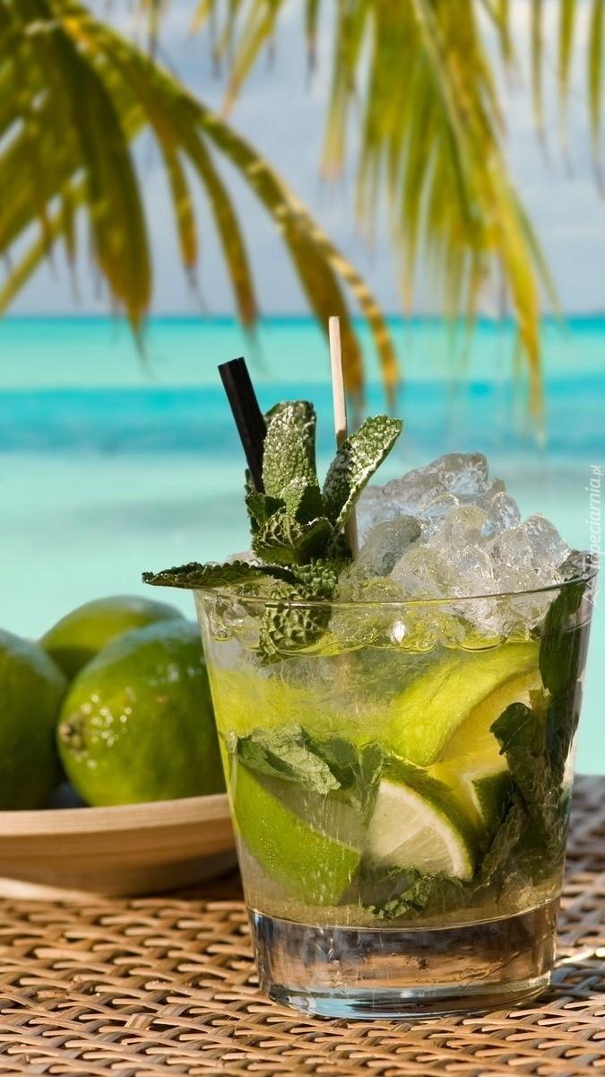 Drink pod palmą