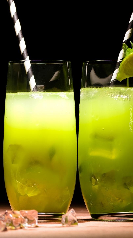 Drinki z lodem o smaku limonki