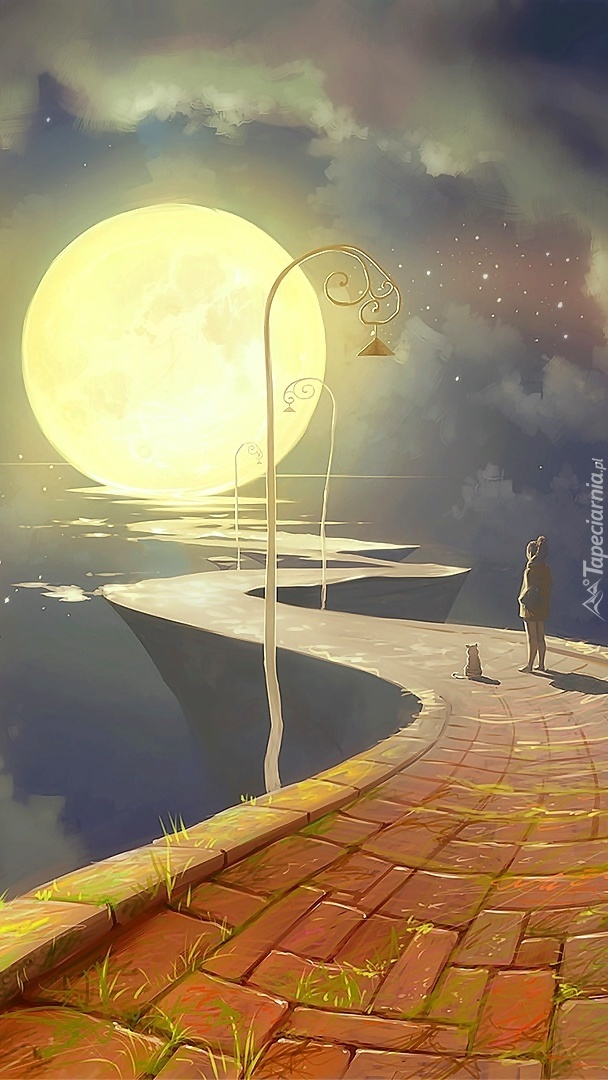 Droga na księżyc