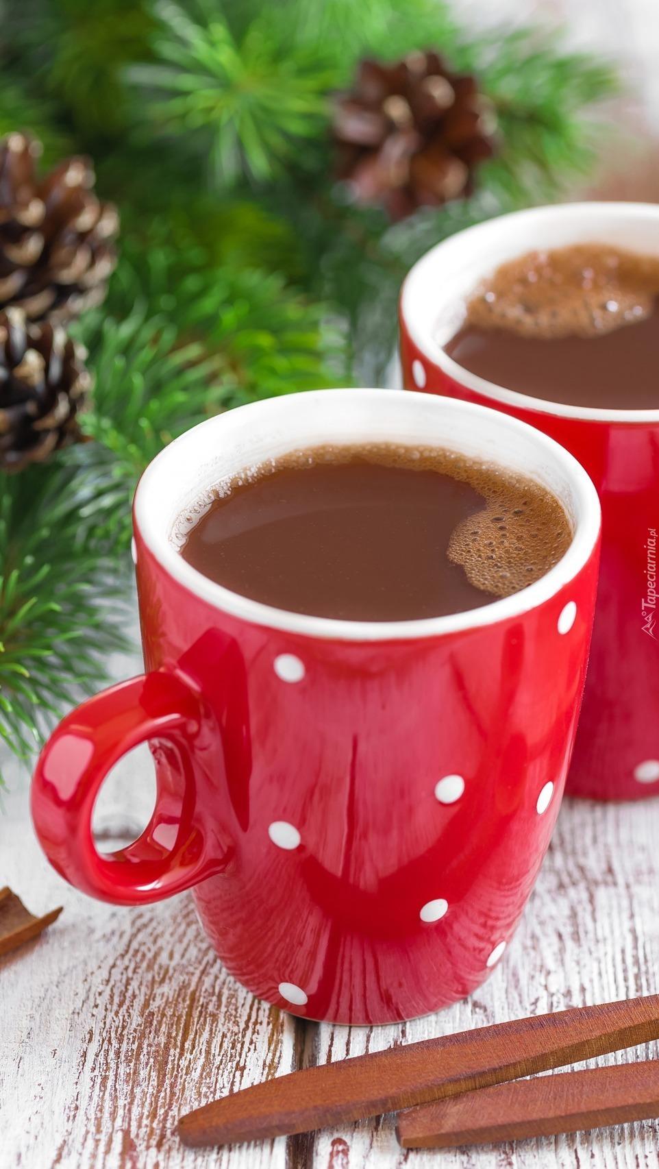Dwa kubki kawy