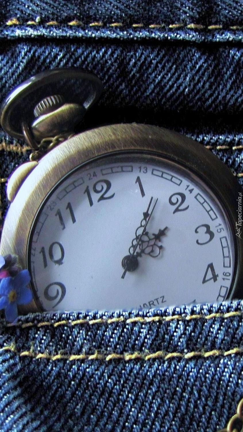 Dziadkowy zegarek w kieszeni