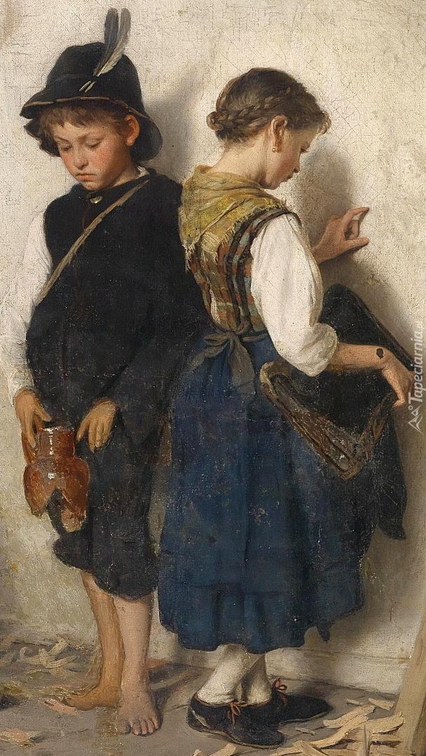 Dzieci na obrazie Gustava Iglera