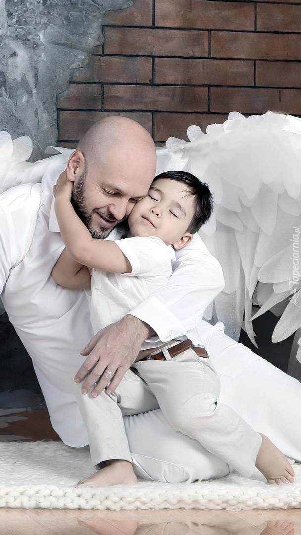 Dziecko pod opieką anioła