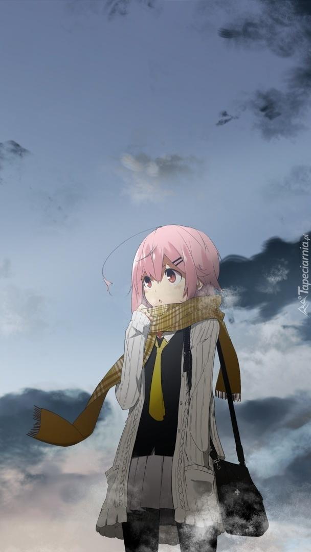 Dziewczyna na spacerze