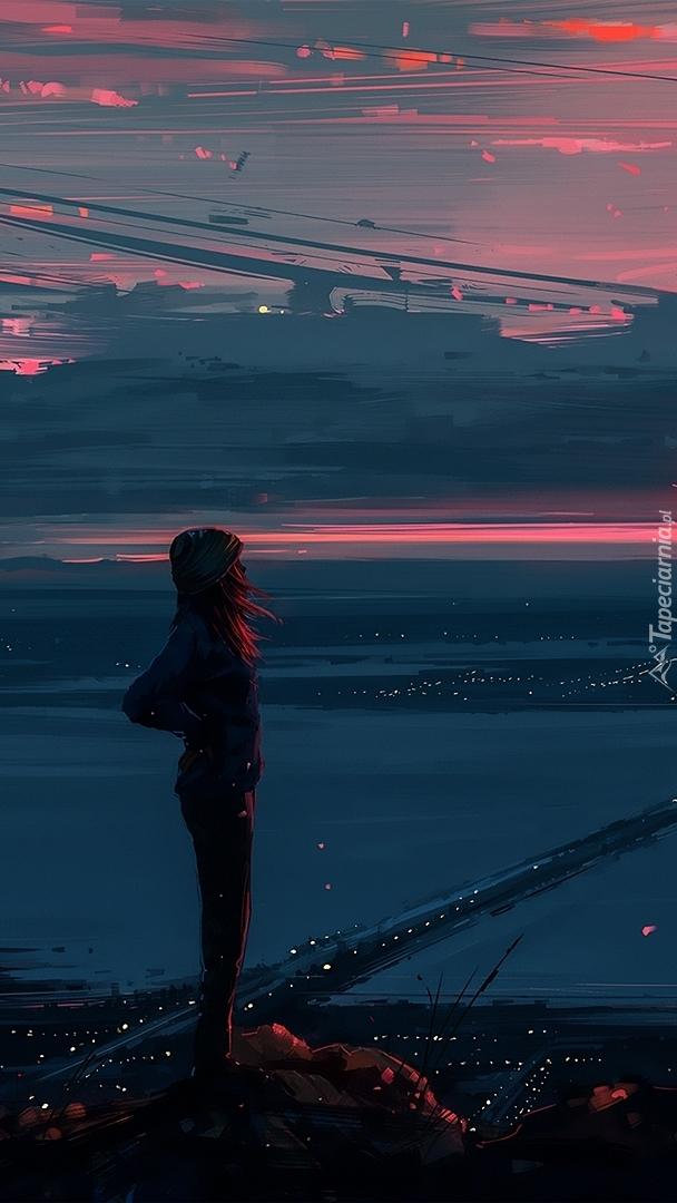 Dziewczyna nad rzeką