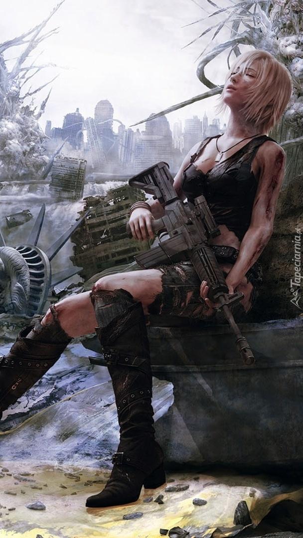 Dziewczyna z karabinem