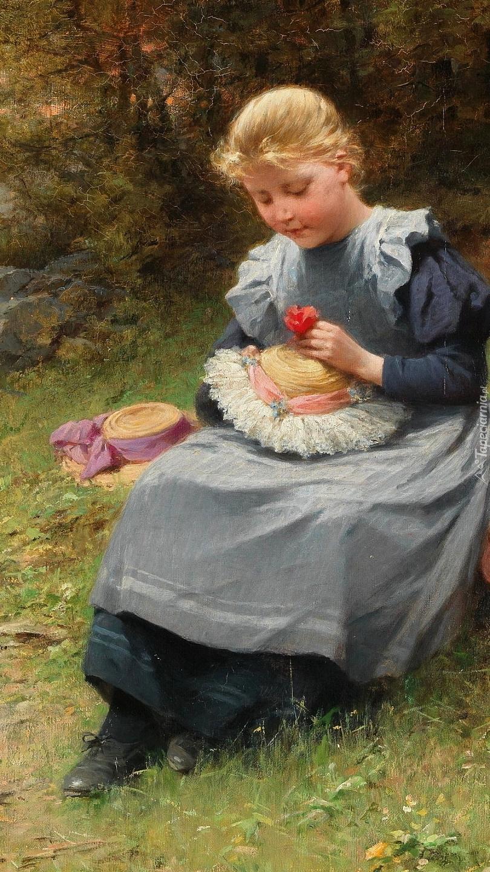 Dziewczynka z kapeluszem