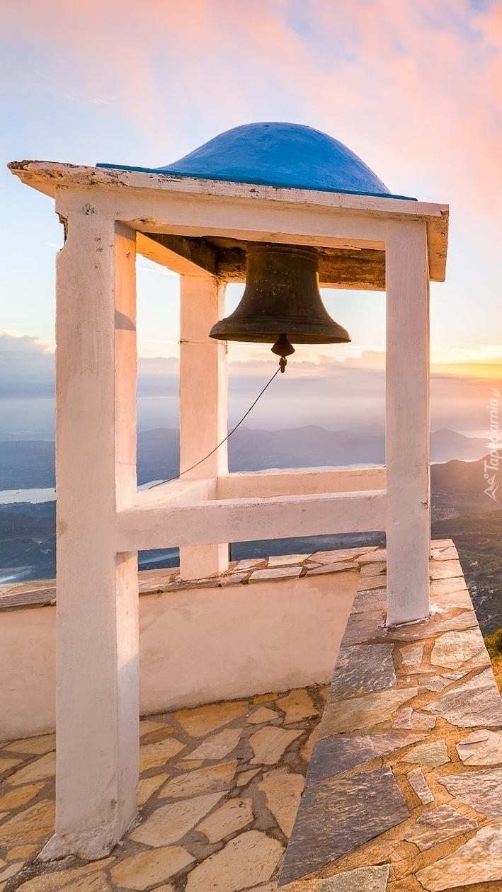 Dzwonnica na greckiej wyspie Leukada
