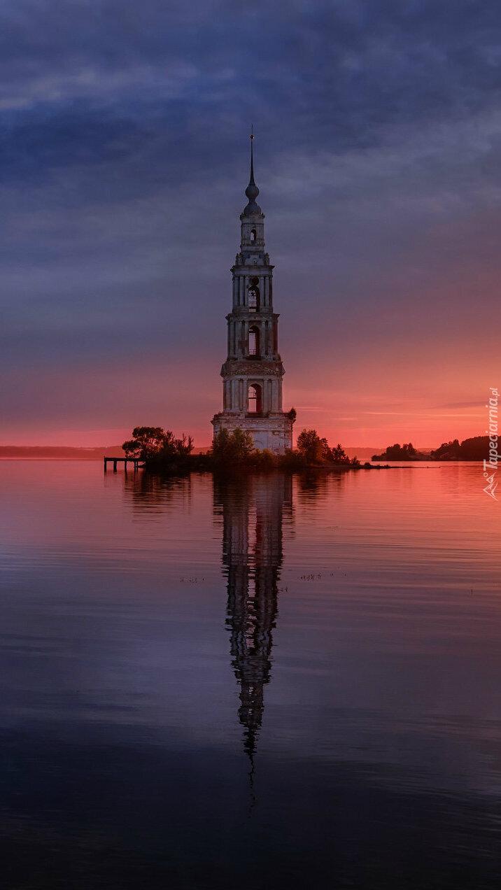Dzwonnica w wodzie