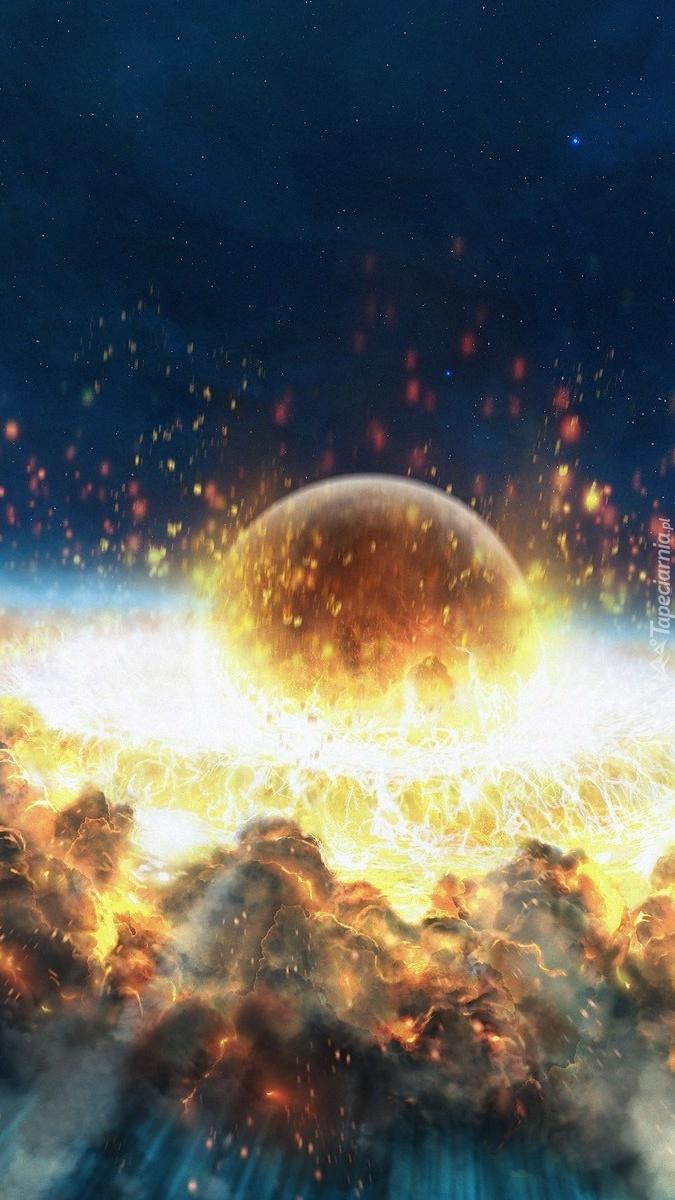 Eksplozja w kosmosie
