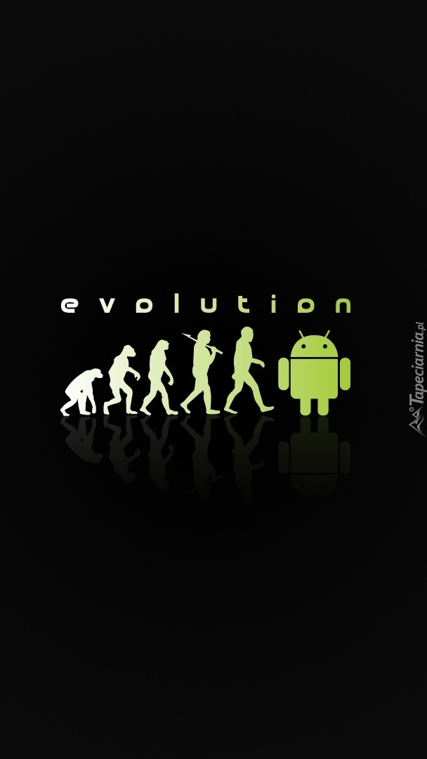 Ewolucja od człekowatych do androidowatych