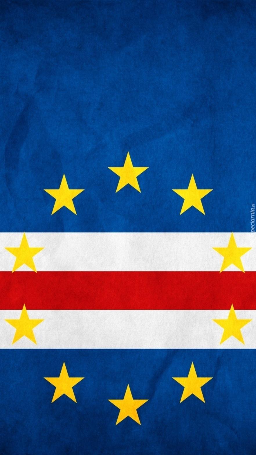 Flaga  Republiki Zielonego Przylądka