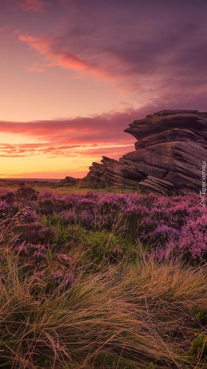 Formacja skalna Salt Cellar w Parku Narodowym Peak District w Anglii