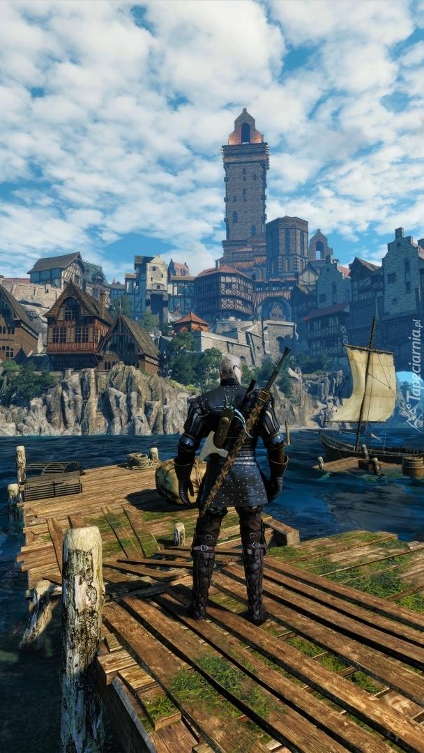 Geralt na pomoście
