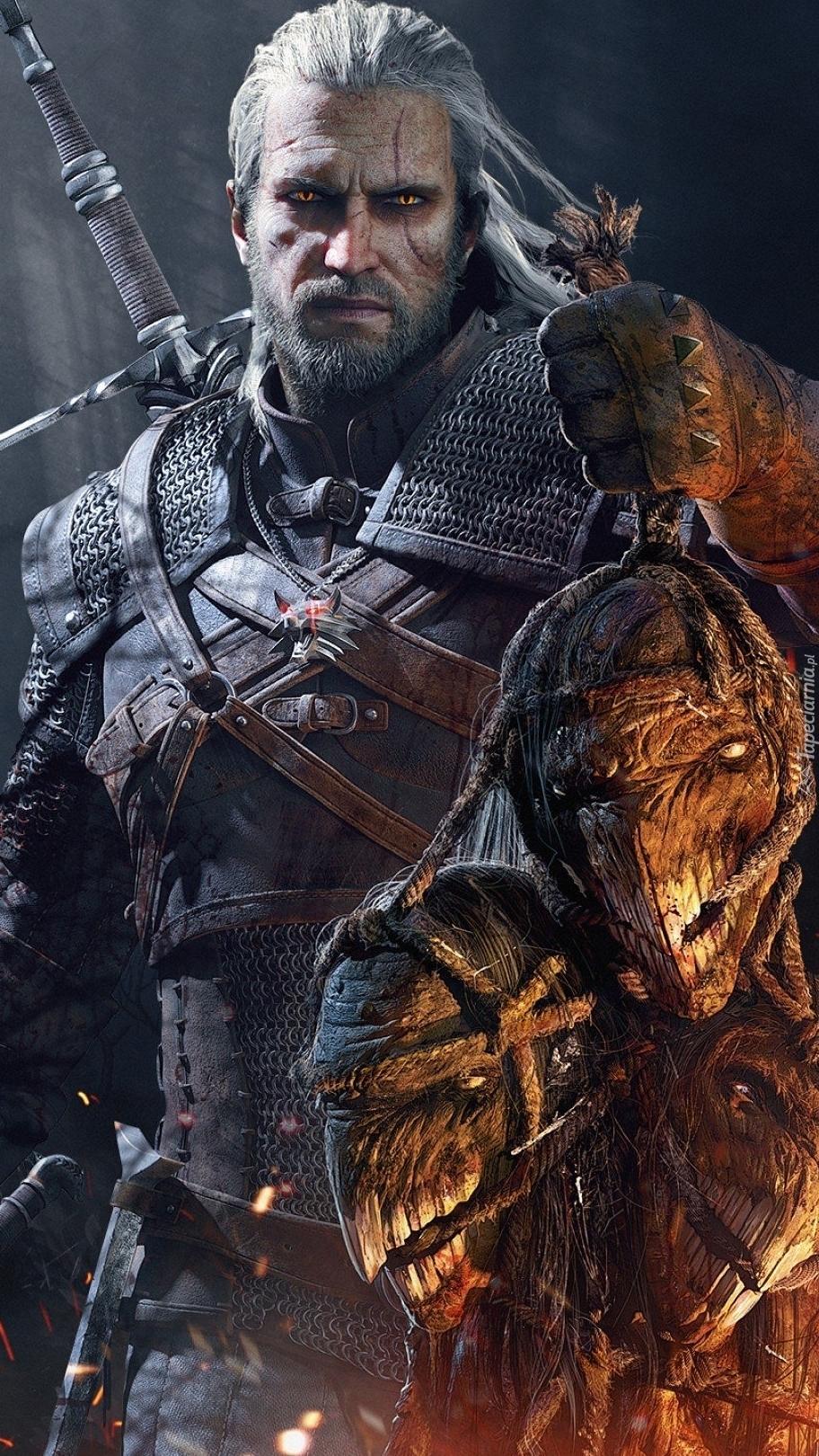 Geralt z Rivii w grze Wiedźmin 3