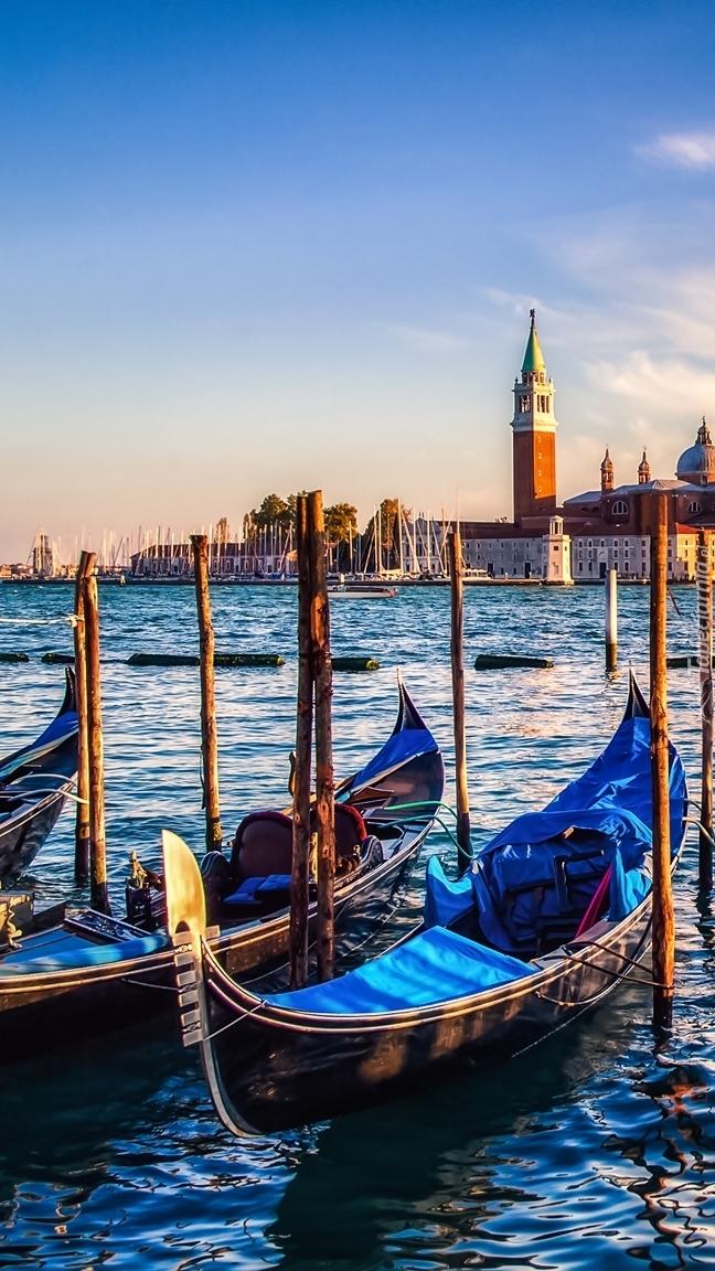 Gondole w Wenecji