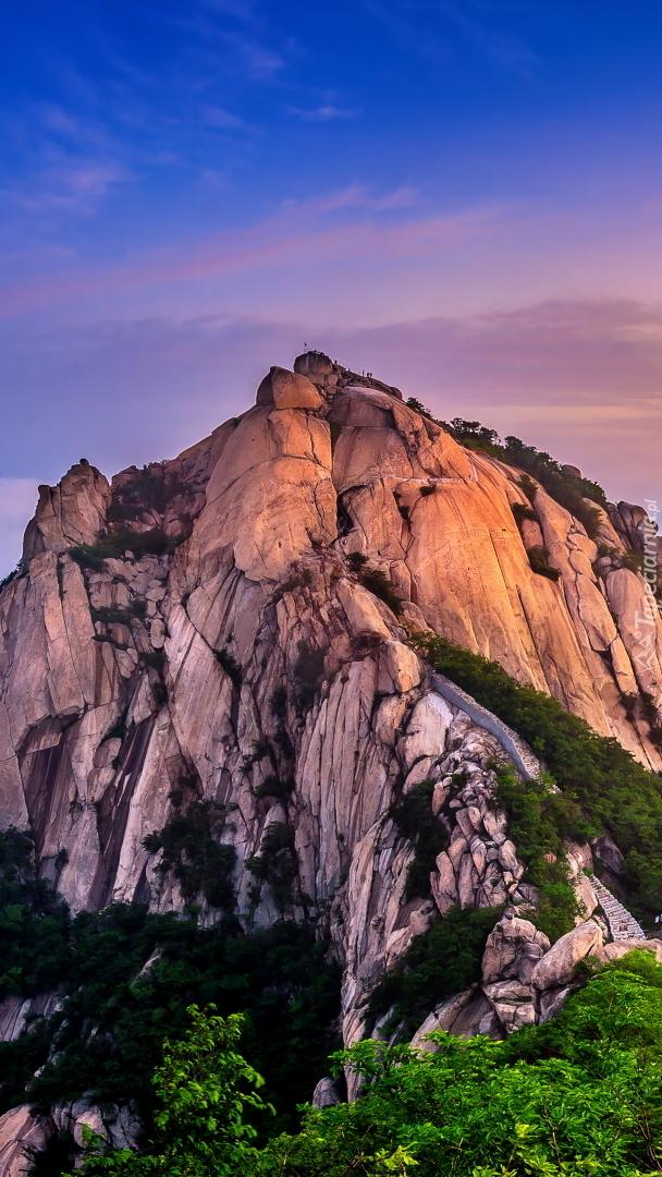 Góra Bukhansan w Korei Południowej