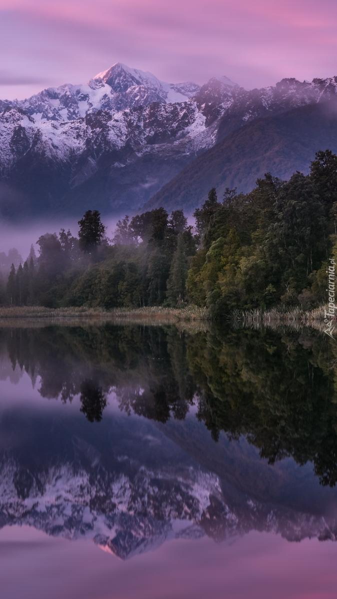 Góra Cooka w Nowej Zelandii