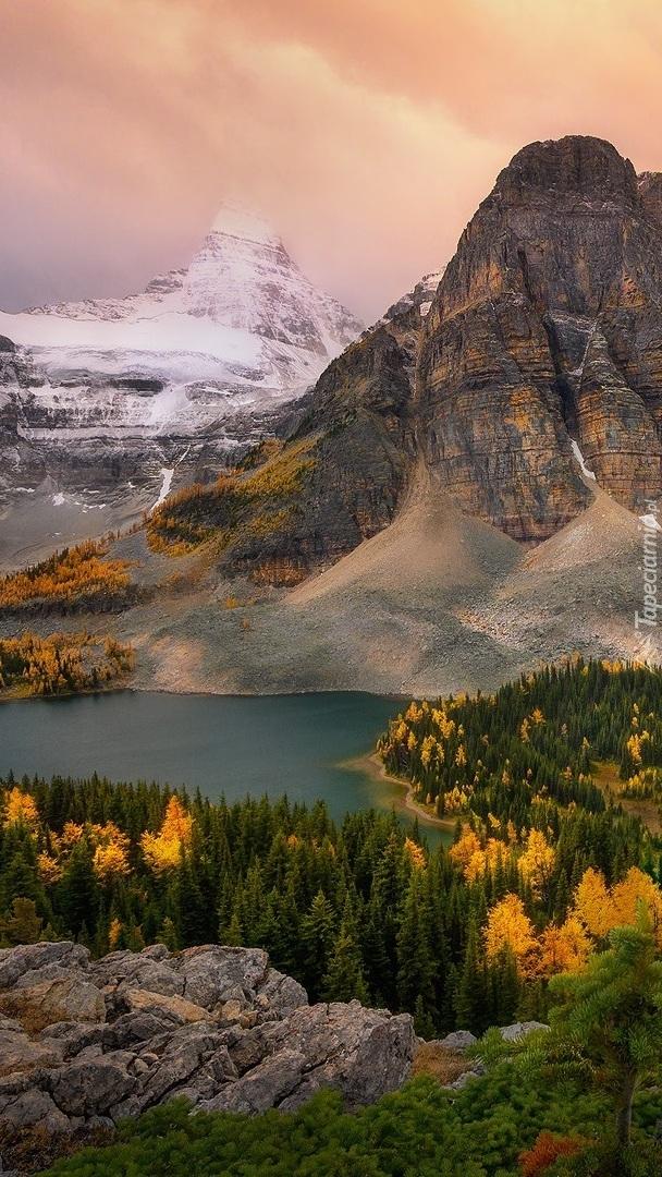 Góra Mount Assiniboine