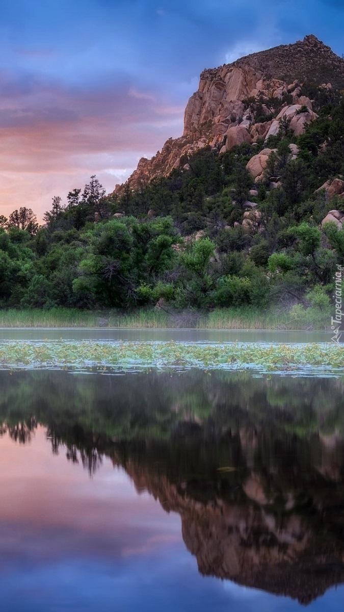Góra nad zbiornikiem Granite Basin Lake