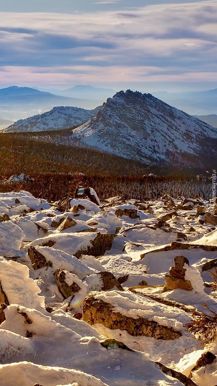 Góra Otkliknoi Greben na Uralu