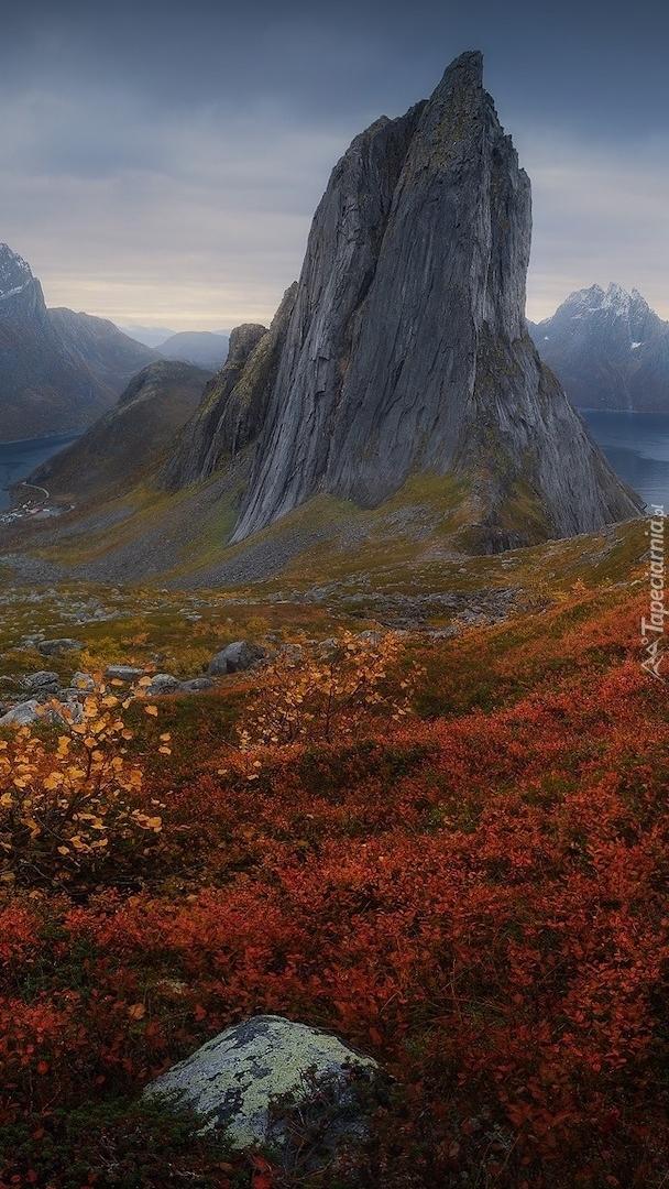 Góra Segla w Norwegii